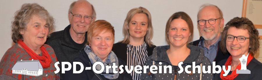 Vorstand des SPD-Ortsvereins Schuby